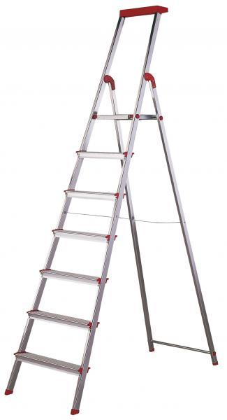 Escalera 7 pelda os brico menaje del hogar escaleras y for Escalera piscina bricodepot